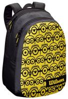 Teniso kuprinė Wilson Minions Jr Backpack - black/yellow