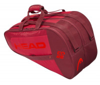 Torbe za padel Head Core Padel Combi - red/red