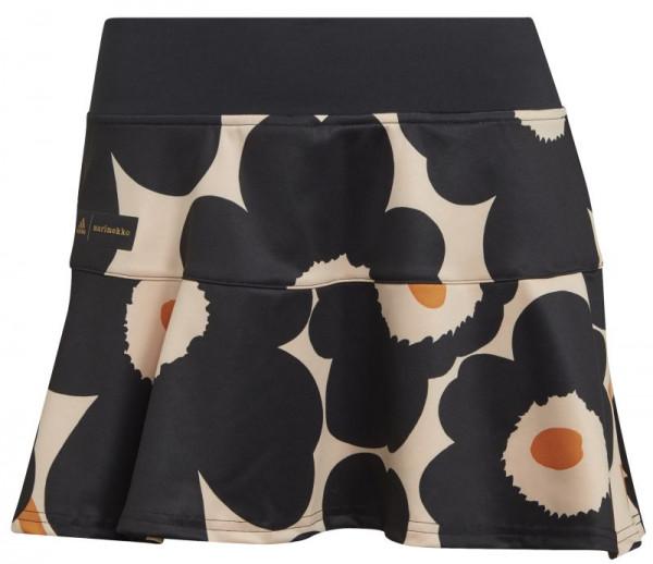 Damska spódniczka tenisowa Adidas Marimekko Tennis Match Skirt W - halo blush/black/gold metallic