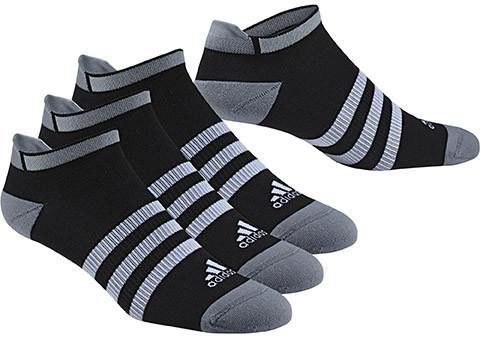 Socks Adidas Clima ID no-show thin cushioned - 3 pary/black/black/black
