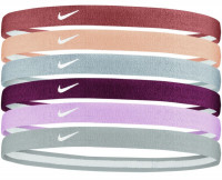 Nike Swoosh Sport Headbands 6PK 2.0 - firewood orange/orange chalk/ light armory blu