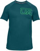 Męski T-Shirt Under Armour Raid 2.0 Graphic SS - tourmaline teal/arena green