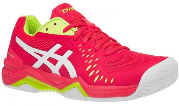 Damskie buty tenisowe Asics Gel-Challenger 12 Clay W - laser pink/white