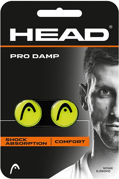 Vibracijų slopintuvai Head Pro Damp - yellow