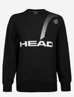 Ženski sportski pulover Head Rally Sweatshirt W - black