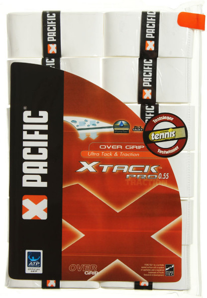 Overgrip Pacific X Tack Pro (12 szt.) - white