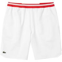 Męskie spodenki tenisowe Lacoste Short Lacoste SPORT x Novak Djokovic - white/red