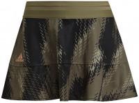Ženska teniska suknja Adidas Tennis Printed Match Skirt Primeblue W - orbit green