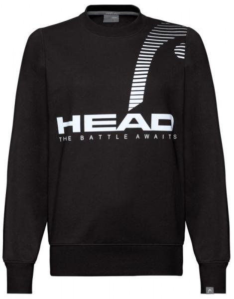 Tenisa džemperis sievietēm Head Rally Sweatshirt W - black
