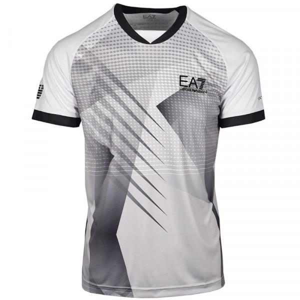 Teniso marškinėliai vyrams EA7 Man Jersey T-Shirt - white