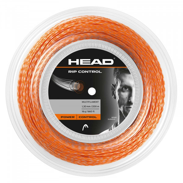 Tenisa stīgas Head Rip Control (200 m) - orange