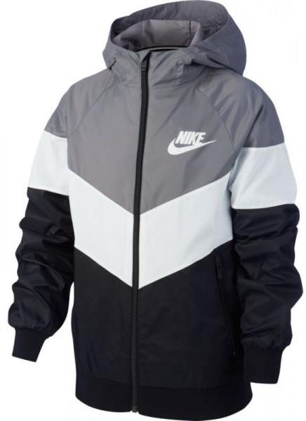 Nike NSW Windrunner Jacket HD GX QS B - gunsmoke/summit white/black/summit white