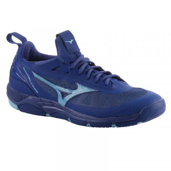 134b33c26783 Buty do squasha Mizuno Wave Luminous - sodalite blue air blue sodalite blue