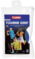 Owijki tenisowe Tourna Grip XL Dry Feel (10 szt.) - blue