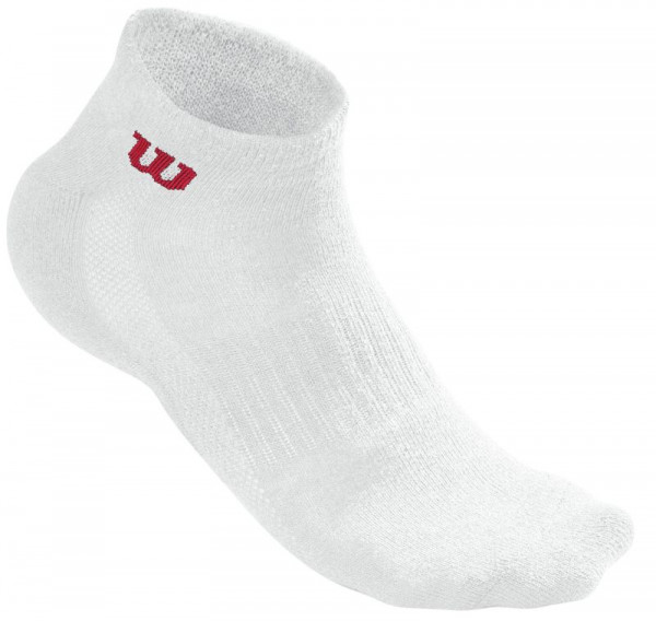 Wilson Men's Quarter Sock 3pr/pk - 3 pary/white
