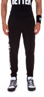 Męskie spodnie tenisowe Hydrogen Do It Better Sweatpants Man - black