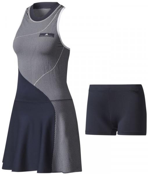 accafdd12f60e0 Damska sukienka tenisowa Adidas by Stella McCartney Barricade Dress -  legend blue/white