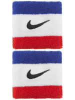 Tennise randmepael Nike Swoosh Wristbands - habanero red/black