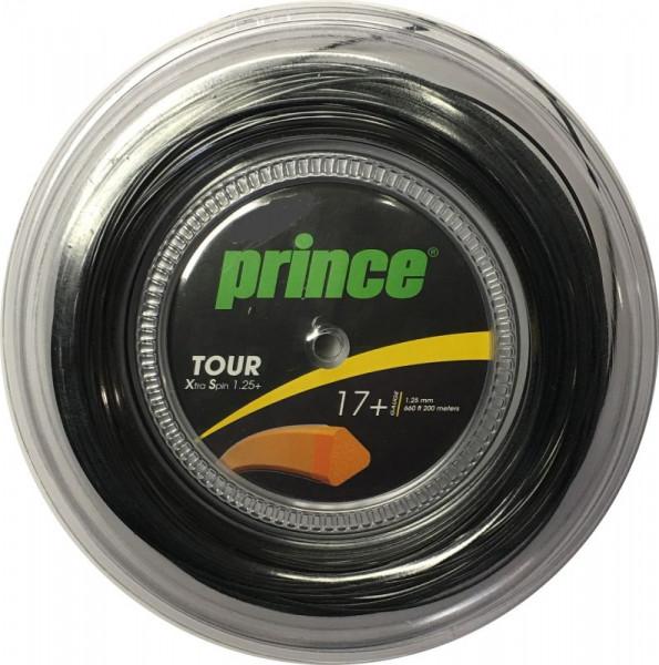 Naciąg tenisowy Prince Tour Xtra Spin 17+ (200 m) - black