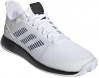 Męskie buty tenisowe Adidas Defiant Bounce 2 M - white/core black/white