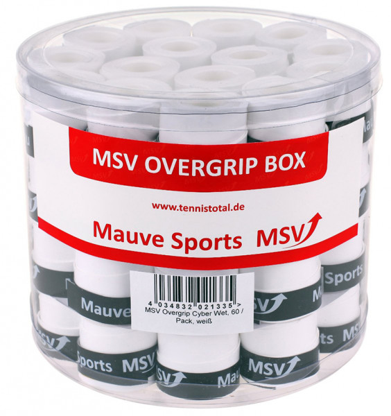 Overgrip MSV Cyber Wet Overgrip (60 szt.) - white