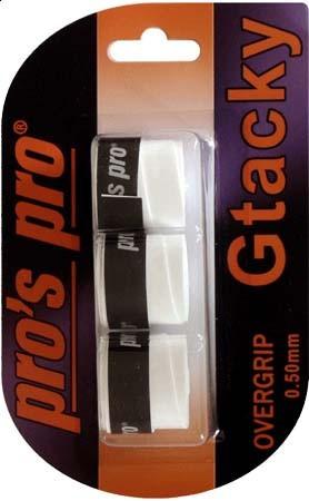 Viršutinės koto apvijos Pro's Pro G Tacky (3 vnt.) - white