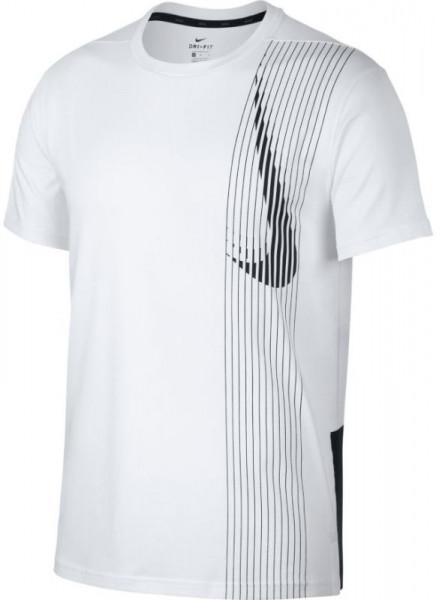 f3f44d31 Nike Dry Top SS LV - white/black/black | T-Shirts | Men's clothing ...
