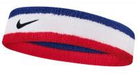 Frotka na głowę Nike Swoosh Headband - habanero red/black
