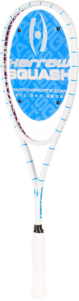 Rakieta do squasha Harrow Vapor Custom by Magda Kamińska - white/light blue