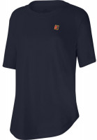 Damski T-shirt Nike Court Weekend Tee Court Embedded - obsidian