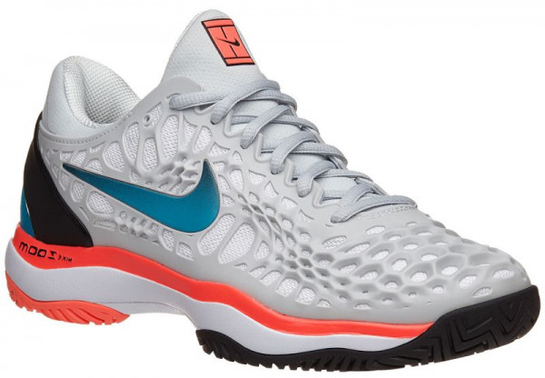 Damskie buty tenisowe Nike WMNS Air Zoom Cage 3 whitebright violet