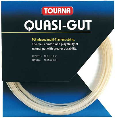 Teniso stygos Tourna Quasi-Gut (12 m) - natural