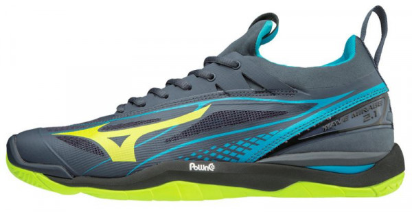 Mizuno Wave Mirage 2.1 - ombre blue/safety yellow/hawaiian ocean