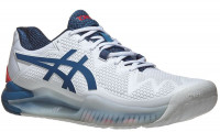 Męskie buty tenisowe Asics Gel-Resolution 8 - white/mako blue