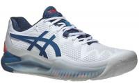 Teniso batai vyrams Asics Gel-Resolution 8 - white/mako blue