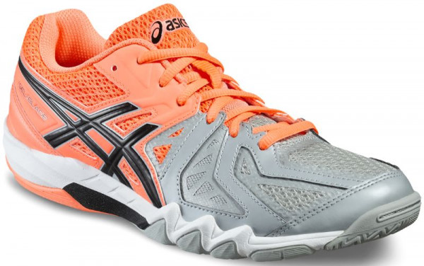 Asics Gel-Blade 5 - flash coral/black/mid grey