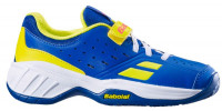 Babolat Pulsion All Court Kid - blue/fluo aero