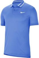 Męskie polo tenisowe Nike Court Dry Polo Pique - royal pulse/white/white