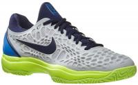 Męskie buty tenisowe Nike Air Zoom Cage 3 - vast grey/blackened blue