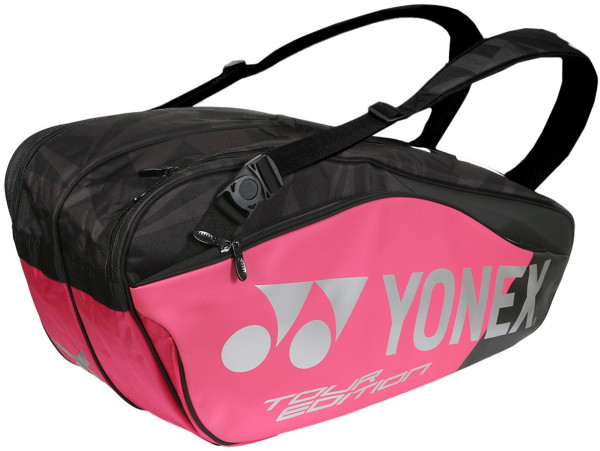 Yonex Pro Racquet Bag 6 Pack - black/pink