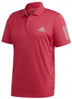 Polo marškinėliai vyrams Adidas M Club 3 Stripes Polo - power pink