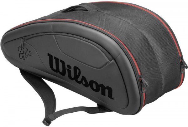 Wilson Federer DNA 12 Pk Bag - black