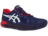 Teniso batai vyrams Asics Gel-Resolution 8 Clay - peacoat/white