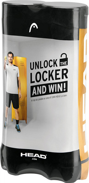 Head ATP Unlock the Locker - 4 szt. x 2 puszki