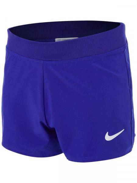 Spodenki dziewczęce Nike Court Dri-Fit Victory Short G - concord/white