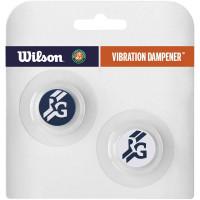 Wibrastopy Wilson Roland Garros Vibra Dampener - white/navy