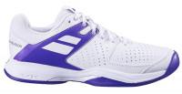 Męskie buty tenisowe Babolat Pulsion All Court Men Wimbledon - white/purple