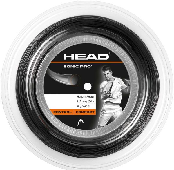 Teniso stygos Head Sonic Pro (200 m) - black