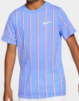 Koszulka chłopięca Nike Court DB Tee Team B - royal pulse