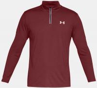Męska bluza tenisowa Under Armour Streaker Novelty 1/4 Zip - red